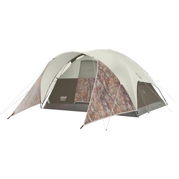 Coleman Evanston Realtree Xtra Tan Nylon 4-person Tent