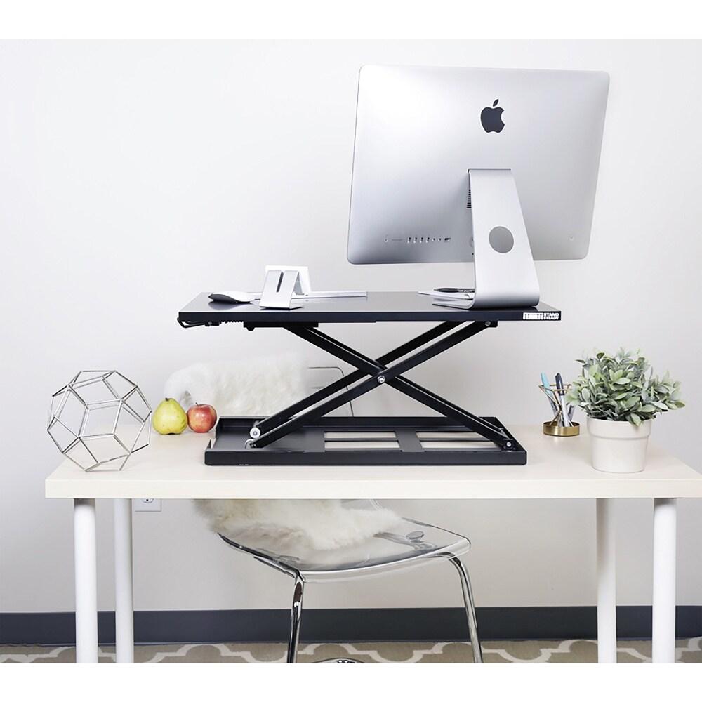 X-Elite PRO Height Adjustable Sit / Stand Desk (Black 28 ...