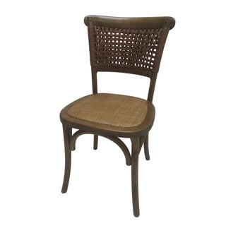 Brown Wooden Dining Chair - Set of 2