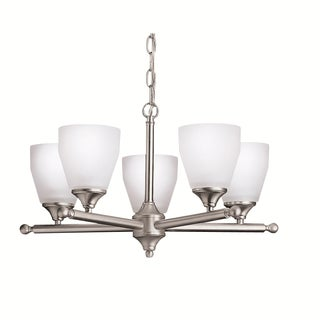 Kichler Lighting Ansonia Collection 5-light Brushed Nickel Chandelier