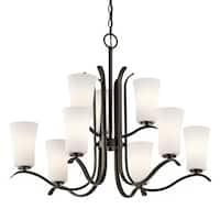 Kichler Lighting Armida Collection 9-light Olde Bronze Chandelier