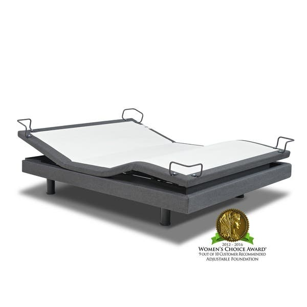 Shop Reverie 7s Upholstered Queen Size Adjustable Bed Power