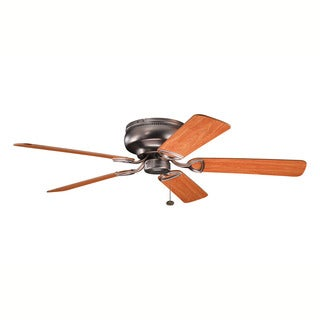 Kichler Lighting Stratmoor Collection 52-inch Oil Brushed Bronze Ceiling Fan