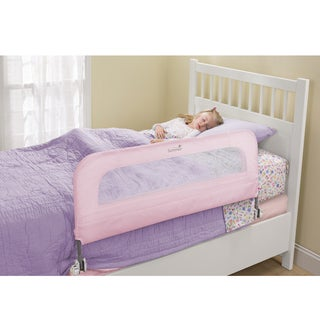 Summer Infant Pink Metal Single-fold Safety Bedrail