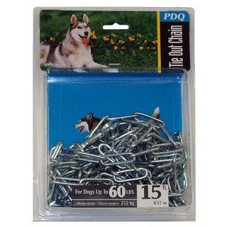 Boss Pet 15' Extra Large Welded Dog Chain Tie Out