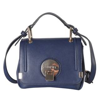 Diophy Faux Leather Mini Crossbody Handbag