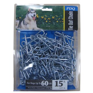 Boss Pet Large PDQ Twisted Dog Chain (2 options available)