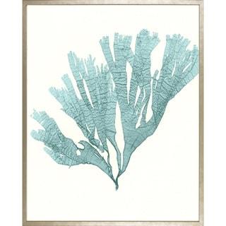 Art Virtuoso Azure Seaweed Framed Art Print