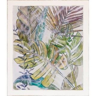 Chariklia Zarris 'Layered Palms' Framed Art Print