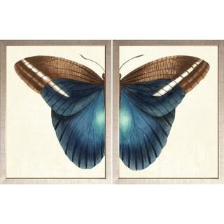 Art Virtuoso 'Butterfly Duo' Small Framed Art Print Set