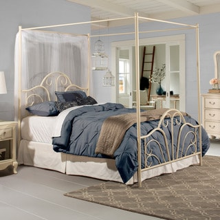 Hillsdale Furniture Dover Bed Set With Rails, Cream