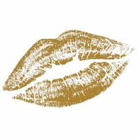 Art In Style 'The Kiss' Hand-painted Canvas Art - multi