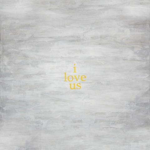 Art In Style 'i love us...' Hand-painted Art on Canvas