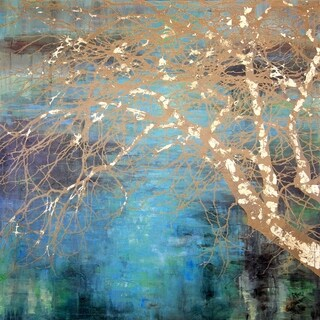 Art In Style 'Tree Bough' Hand-painted Canvas Art
