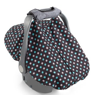 Summer Infant 2-in-1 Carry and Cover Black Polyester Infant Car Seat Cover