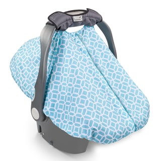 Summer Infant Diamond Links Polyester 2-in-1 Carry Cover Infant Car Seat Cover