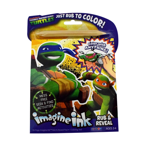 teenage mutant ninja turtles imagine ink magic coloring book - Imagine Ink Coloring Book