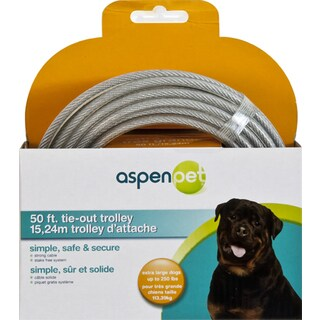 Petmate 50' SuperTrolley Pet Cable