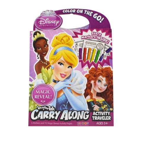 Disney Princesses 'Color On The Go' Activity Traveler - Pink