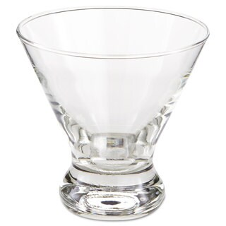 "Libbey Cosmopolitan Beverage Glasses, Cocktail/Dessert, 8.25 oz, 3 7/8"" Tall"
