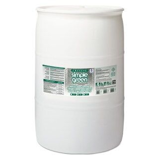 Simple Green Crystal Industrial Cleaner/Degreaser, 55gal Drum