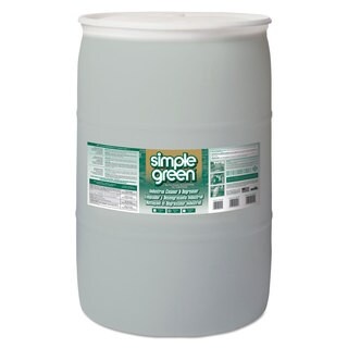 Simple Green Industrial Cleaner & Degreaser, Concentrated, 55 gal Drum