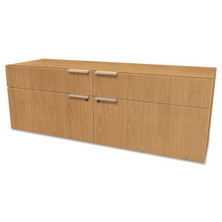 HON Voi Low Credenza, 2 Box/2 File Drawers, 60w x 20d x 21 1/2h