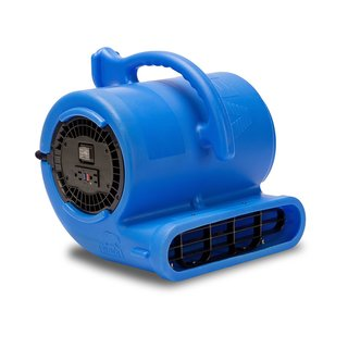VP-33 1/3 HP 2530 CFM Air Mover Carpet Dryer Dehumidifer Floor Fan for Plumbers, Carpet Dryer, Janitorial, and WDR