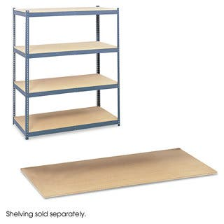 Safco Particleboard Shelves for Steel Pack Archival Shelving, 69w x 33d, Box of 4|https://ak1.ostkcdn.com/images/products/13780021/P20432206.jpg?impolicy=medium
