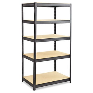 Safco Boltless Steel/Particleboard Shelving, Five-Shelf, 36w x 24d x 72h