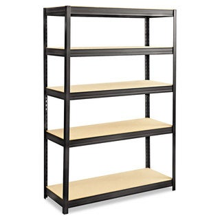Safco Boltless Steel/Particleboard Shelving, Five-Shelf, 48w x 18d x 72h