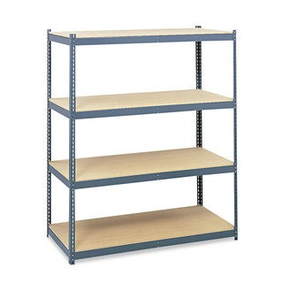 Safco Steel Pack Archival Shelving, 69w x 33d x 84h, Grey