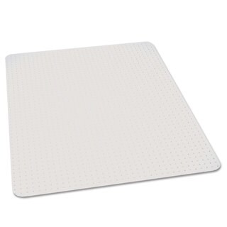 ES Robbins 46x60 Rectangle Chair Mat, Performance Series AnchorBar for Carpet up to 1""