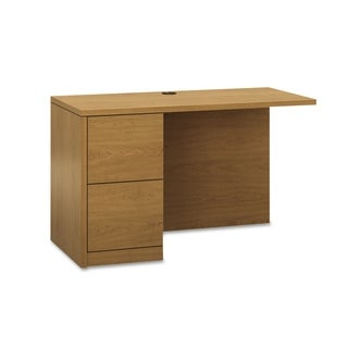 HON 10500 Series L Workstation Desk Return, Full-Height Left Ped, 48w x 24d