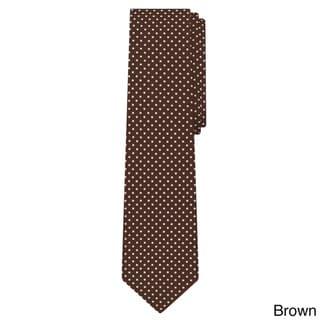 Jacob Alexander Men's Polka-dot Print Regular Tie
