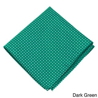 Jacob Alexander Blue Microfiber Polka-dot Print Hanky