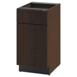 HON Hospitality Single Base Cabinet, Door/Drawer, 18w x 24d x 36h, Mocha|https://ak1.ostkcdn.com/images/products/13780200/P20432331.jpg?impolicy=medium