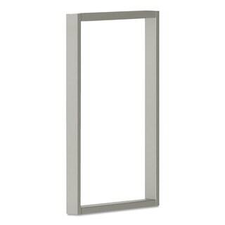 HON Voi O-Leg Supports for Overhead Cabinet, 14-1/4d x 20-1/2h, Platinum Metallic