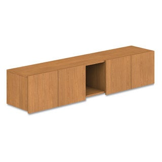 HON Voi Overhead Cabinet, Four Doors/One Cubby, 72w x 14 1/4d x 14h