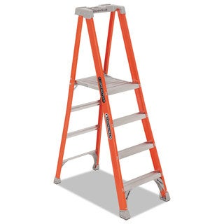 Stop Step Folding Aluminum Handrail Ladder Free Shipping