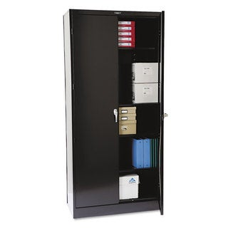 "Tennsco 78"" High Deluxe Cabinet, 36w x 18d x 78h"