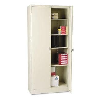 """Tennsco 78"""" High Deluxe Cabinet, 36w x 18d x 78h"""