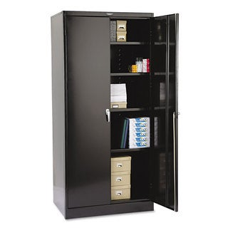 "Tennsco 78"" High Deluxe Cabinet, 36w x 24d x 78h"