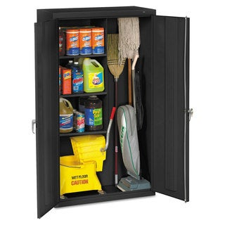 Tennsco Janitorial Cabinet, 36w x 18d x 64h (2 options available)