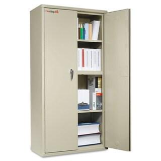 FireKing Storage Cabinet, 36w x 19-1/4d x 72h, UL Listed 350°