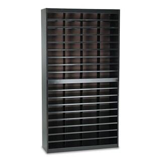 Safco Steel/Fiberboard E-Z Stor Sorter, 72 Sections, 37 1/2 x 12 3/4 x 71
