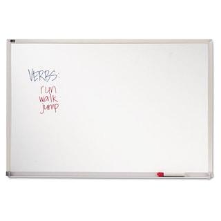Quartet Melamine Whiteboard, Aluminum Frame