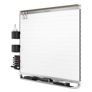 Quartet Prestige 2 Connects Magnetic Total Erase Whiteboard Aluminum Frame
