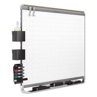 Quartet Prestige 2 Connects Magnetic Total Erase Whiteboard Graphite Frame