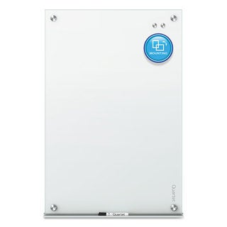 Quartet Infinity Magnetic Glass Marker Board White